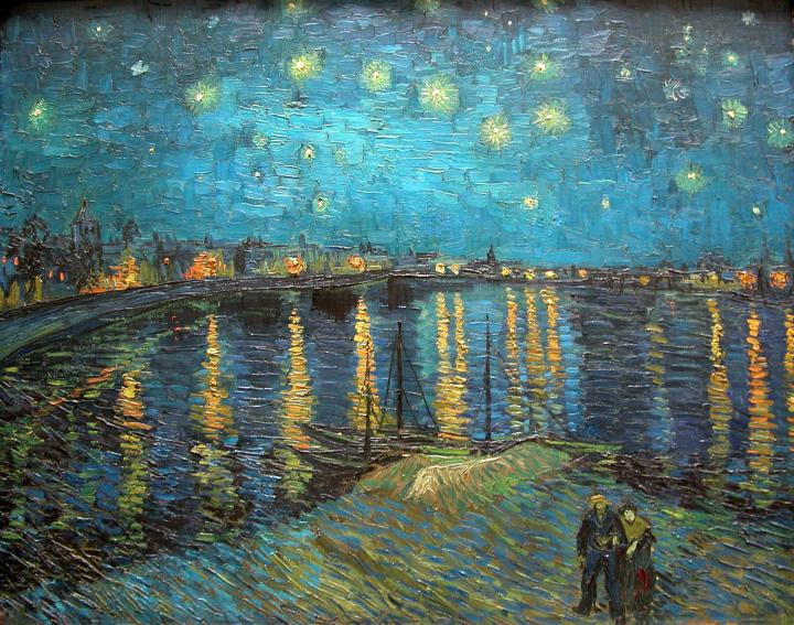 Paris-Musee-DOrsay-Vincent-van-Gogh-1888-Starry-Night-over-the-Rhone-1
