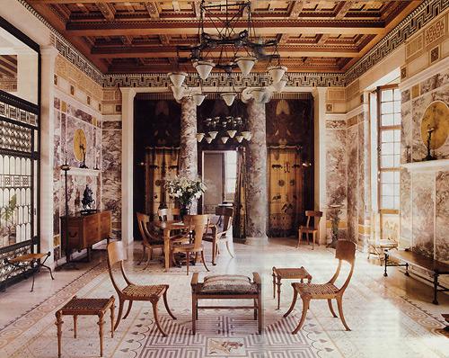villa-kerylos-themodernsybarite-dining-living-room1